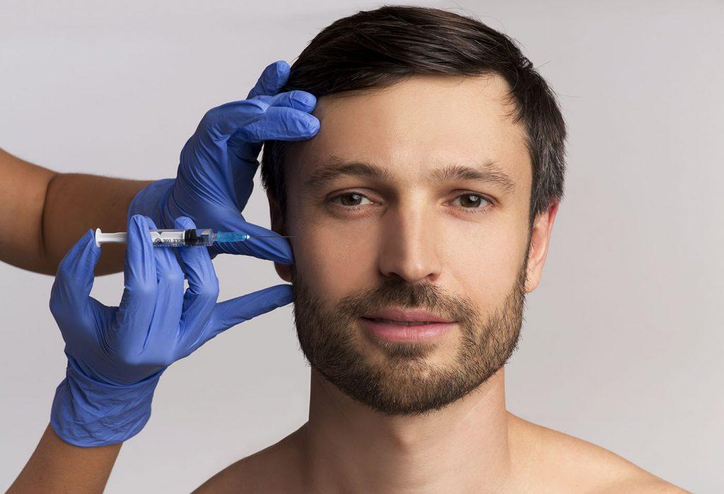biostimolazione viso uomo